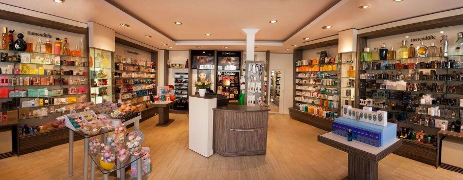Geschäft Panorama - Parfümerie Kielgast in der Lutherstadt Eisleben